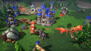 Warcraft III looks better than ever, though not as good as some might have liked.